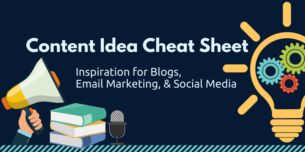 Content Idea Cheat Sheet Twitter Card