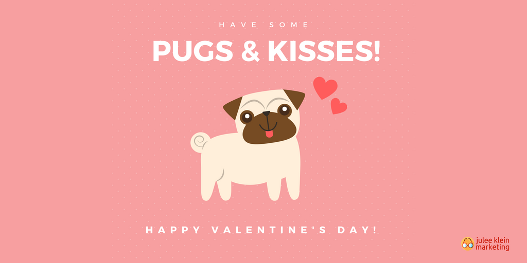 Happy Valentine's Day and other February email marketing themes
