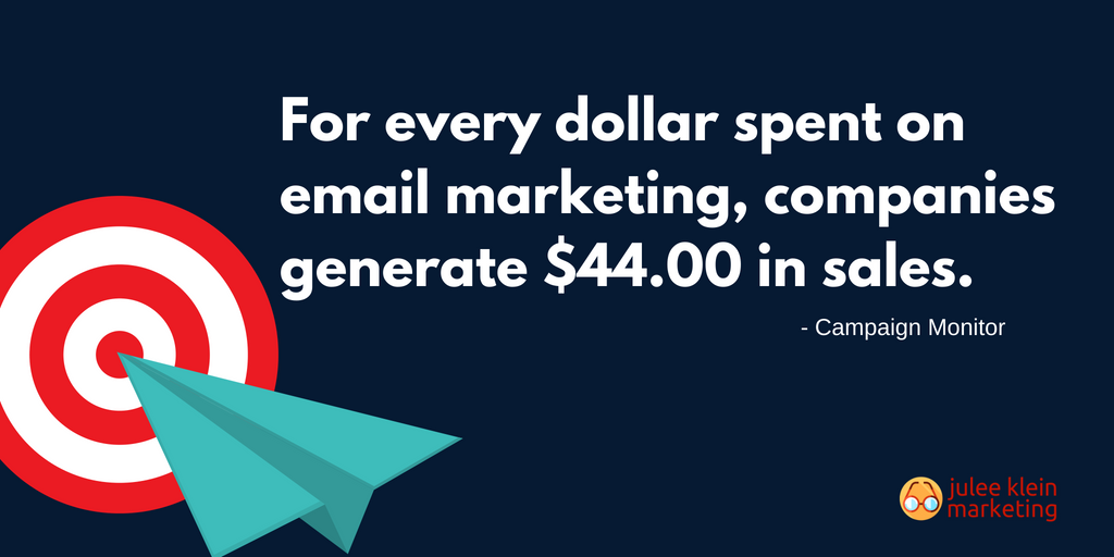 Email Marketing ROI Statistic