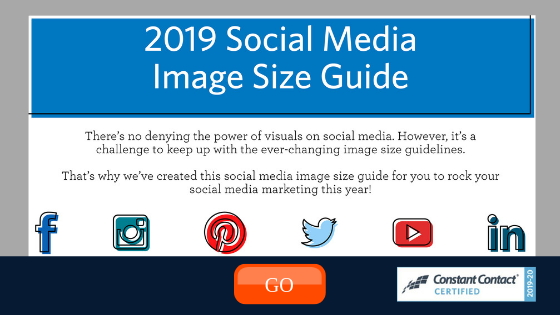 Social Media Image Size Guide from Constant Contact