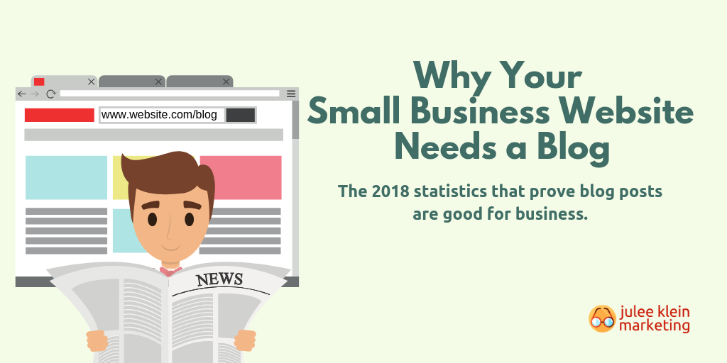 Why Your Small Business Website Needs a Blog