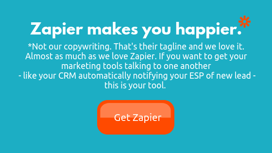 Use Zapier to connect all of your small business applications and tools.